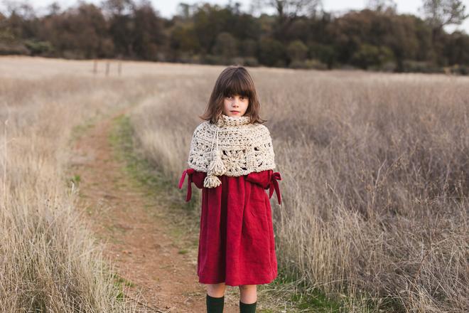 granny square capelet crochet pattern