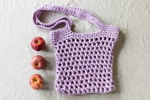 Medina market tote crochet pattern