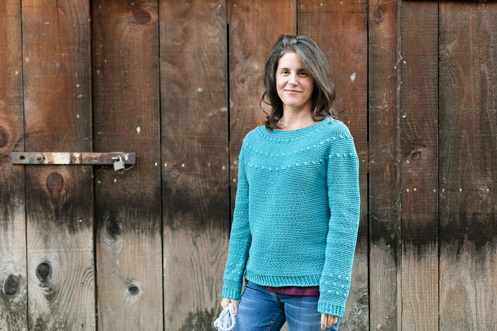 Dahlia sweater by Teal and Finch-6694