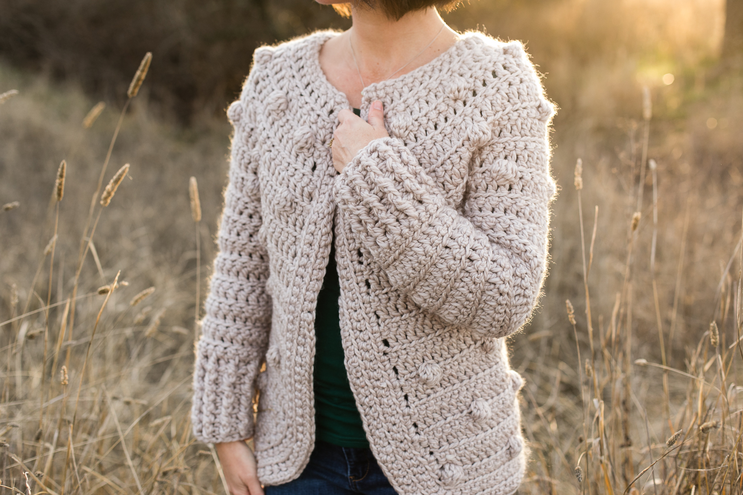 Hartley crochet sweater pattern