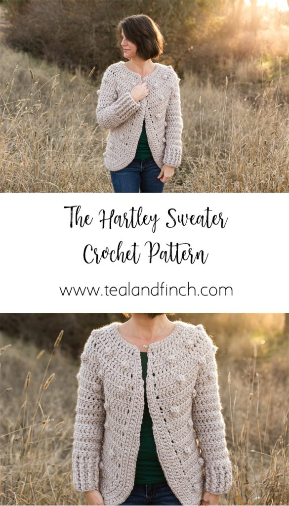 Teal & Finch - Crochet Design