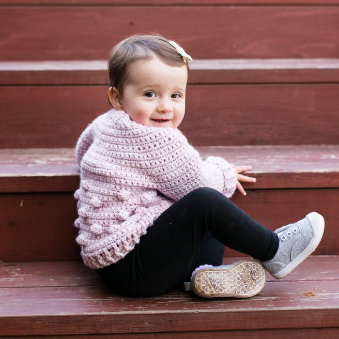 crochet baby sweater pattern